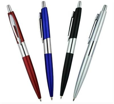 RIF Metal Chrome pen (Set of 4 Pcs) Ball Pen