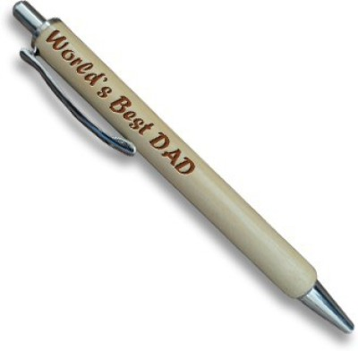 Tiedribbons World Best Dad Silver Jotter Ball Pen