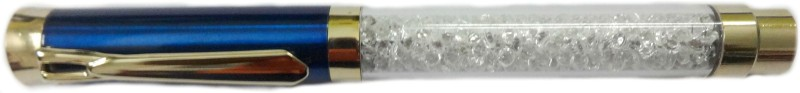 Aardee swarovski design crystal Fineliner Pen(Blue)