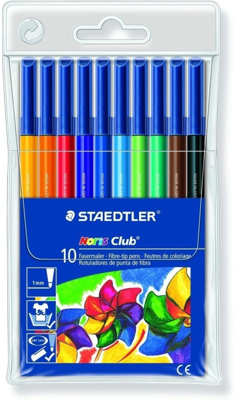 Staedtler Noris Club Fineliner Pen(Multicolor)