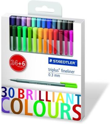 Staedtler 334 C30P Fineliner Pen