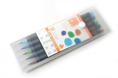 Akashiya Sai XCA-200 Round Paint Brushes(Set of 5, Assorted)