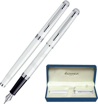 Waterman Hemisphere White CT Fountain Pen