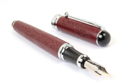 Crocodile 168 MAGNIFICENT BURGUNDY LEATHER EXCLUSIVE Fountain Pen