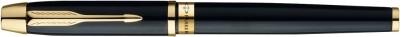 Parker Odyssey Laque Black Gold Trim Roller Ball Pen