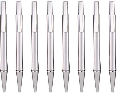 PeepalComm Classic Silver Roller Ball Pen