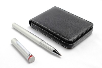 SRPC Atm Card Wallet and Rotring Esprit Emotion Roller Ball Pen