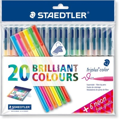 STAEDTLER Triplus® color 323 Triangular fibre-tip Fineliner Pen