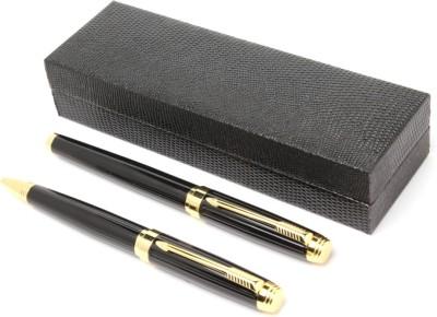 SRPC EXECUTIVE GOLDEN ARROW CLIP DESIGNER ROLLERBALL & BALLPOINT Pen Gift Set