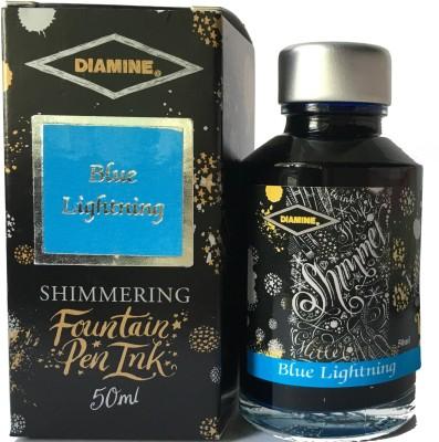 DIAMINE SHIMMER BLUE LIGHTING 50ML Ink Bottle