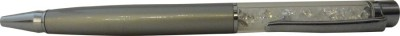 The Divine Luxury Silver Plated Swarovski Ball Pen