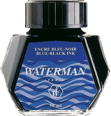 Waterman Ink Bottle - Blue Black