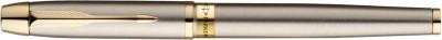 Parker Odyssey Brushed Metal Gold Trim Roller Ball Pen