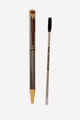 Pierre Cardin Crystal Titanium Ball Pen