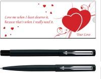 Parker Vector Valentine Edition Matte Black CT (RB) Pen Gift Set best price on Flipkart @ Rs. 649