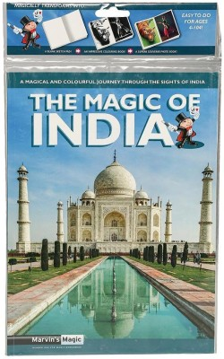 Hamleys Marvins The Magic of India Book Stationery Set