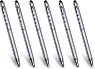 PeepalComm Premium Silver Stylus and Ball Pen