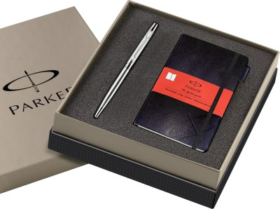 Parker Insignia Classic Twist Shiny CT BP + Parker Notebook Ball Pen