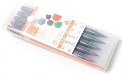 Akashiya Sai XCA-200 Round Paint Brushes
