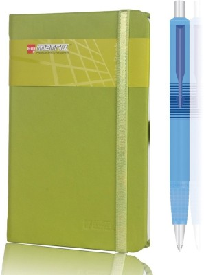 Parker Combo sigma+Bilt A6 Pu Note book Ball Pen