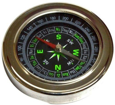 Rudham Magnetic 3 Inches Big Compass(Silver)