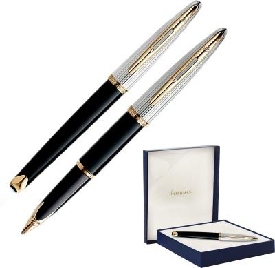 Waterman Carene Black Deluxe Fountain Pen