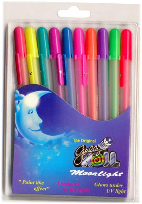 Sakura Gelly roll Moonlight Gel Pen(Pack of 10, Multicolor)
