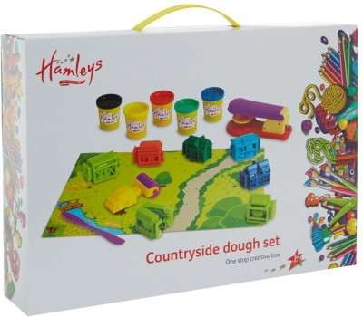 Hamleys Funny Farm Dough Stationery Set