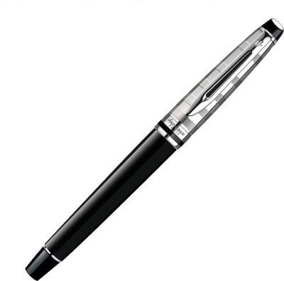 Waterman Expert Deluxe Black CT Roller Ball Pen