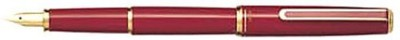 Pens India Japan Pilot Celemo Red Color 14kt Solid Gold Fountain Pen