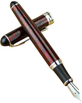 Auteur Premium Executive Maroon Marble Finish Signature Collection Fountain Pen