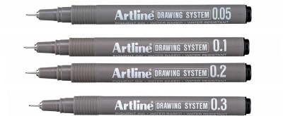 Artline Drawing Fineliner Pen