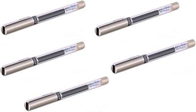 Add Gel Achiever Gel Pen(Pack of 5, Black)