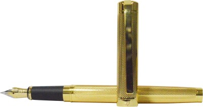 Bird In Blue Limited Edition Gold Foiled Fountain Pen