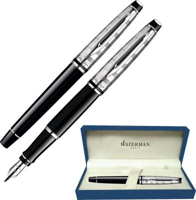 Waterman Expert Deluxe Black CT Fountain Pen