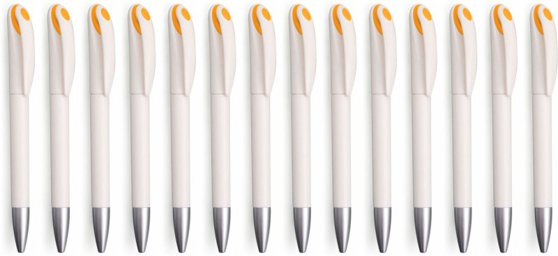 Zarsa Classic Orange Roller Ball Pen(Pack of 14, Blue)