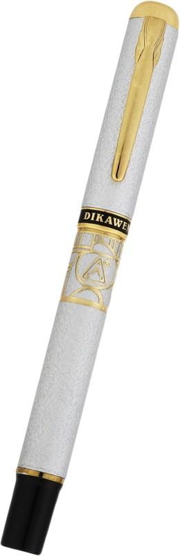 Dikawen Gold Design and clip Fountain Pen(Black)
