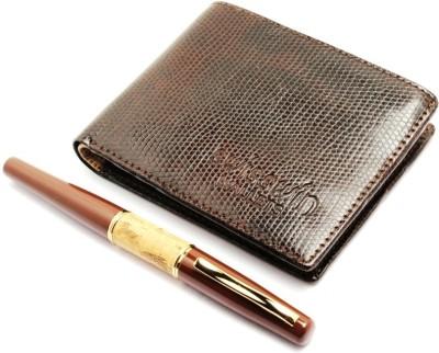 SRPC EXECUTIVE MENS WALLET & DESIGNER Pen Gift Set