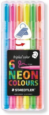 STAEDTLER Triplus® Neon color 323 Triangular fibre-tip Fineliner Pen