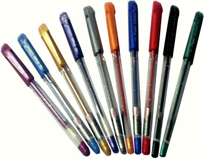 Flair Glitter (Pack of 10) Gel Pen