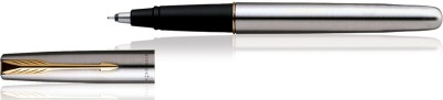 Parker Frontier Valentine,s-Day Special Stainless Steel Gold Trim Roller Ball Pen