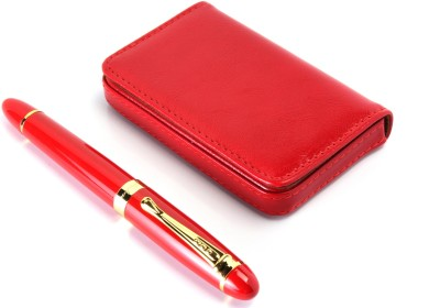 SRPC EXECUTIVE GIFT SET OF ATM WALLET AND ELEGANT Fountain Pen