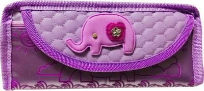 Priyankish Smart Kids Elephant Art Denim Pencil Box