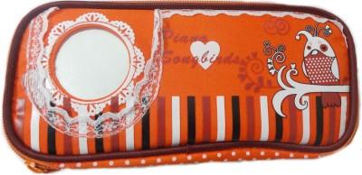 Aardee Photo pocket Design Art Thick fabric Pencil Box