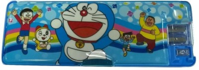 Cutebaby Doraemon Multi Art Plastic Pencil Box