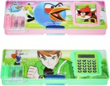 DreamBag Ben 10 Colourfull Art Plastic P...