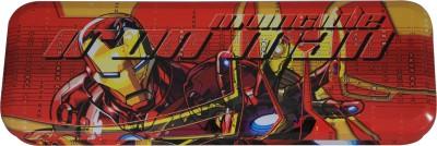 Disney Ironman Marvel Avenger Art Metal Pencil Box