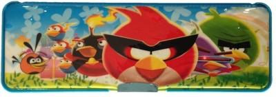Unique Angry Birds Plastic Pencil Box