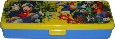 SKI Big-Air Mickey, Donald Art Plastic Pencil Box