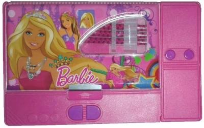 Shree Krishna Handicrafts And Gallery Barbie Cartoon Art Plastic Pencil Box